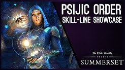 Psijic Order Skill Line Showcase - Summerset Chapter!