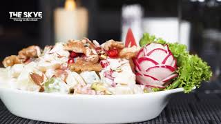 Special Fruit Salad | Healthy Salad at Indigo Heights | Creamy Salad |Fruit Salad by The Skye
