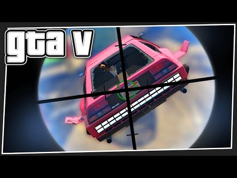 FLYING CARS vs SNIPERS | GTA 5 Online