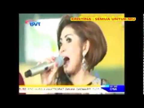 (1,065)  Kristina  __ SEMUA UNTUKMU __ Lagu Dangdut Akustik