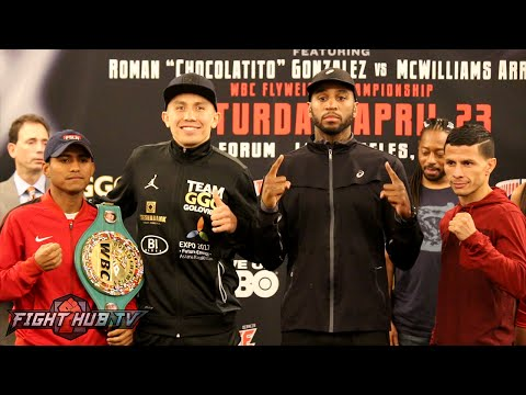 Gennady Golovkin vs. Dominic Wade Complete Final Press Conference & Face Off