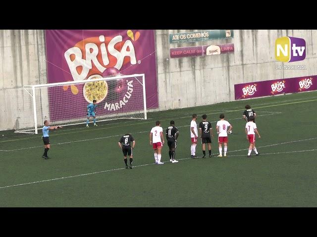 Formação: Juniores empatam com Vilafranquense a uma bola