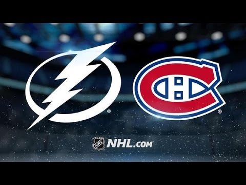 Tampa Bay Lightning vs Montreal Canadiens NHL Game Recap