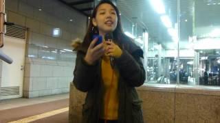 2016.10.26 なんば 5番出口前にて路上LIVE NANA 三大都市ワンマン『夢は...