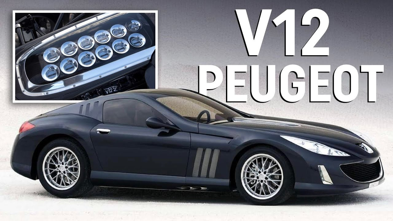 When Peugeot made a 500bhp naturally aspirated V12 supercar
