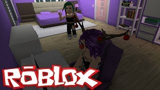 MY LITTLE BROTHER HELPS ME DECORATE BLOXBURG ROBLOX