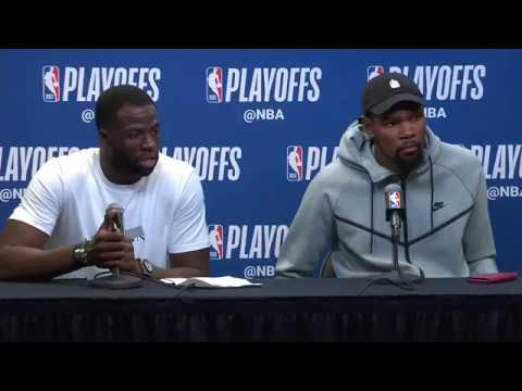 kevin-durant-and-draymond-green-postgame-interview-spurs-vs-warriors-game-4