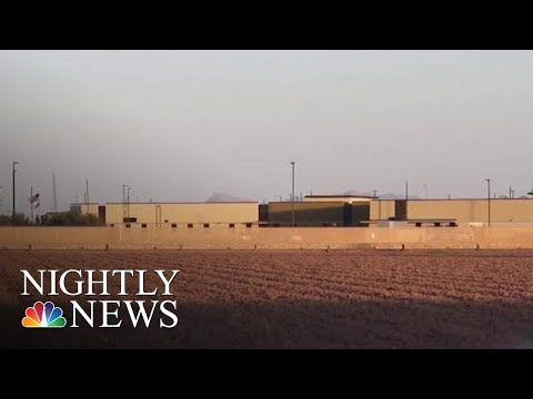 300 Migrant Children Crowded Conditions Moved To Tent Camp After National Outcry | NBC Nightly News