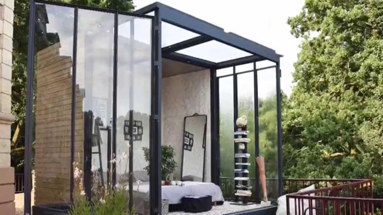 un cube dans mon jardin la chambre qu 39 il vous manquait youtube. Black Bedroom Furniture Sets. Home Design Ideas