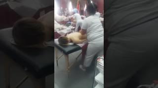 1 открытый Чемпионат по массажу в Тирасполе