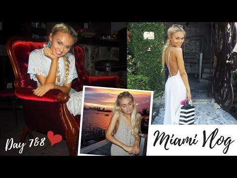 Miami Vlog 💙 Sephora shopping & exploring Coconut Grove-Day 7&8