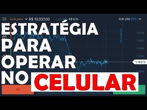 Estratégia Fácil Para Operar no Celular - IQ Option e Olymp Trade