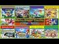 Mario Slider theme evolution (1996-2016) v.2