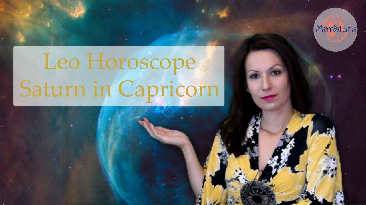 Leo Horoscope | Saturn in Capricorn | 2018/2020 prediction