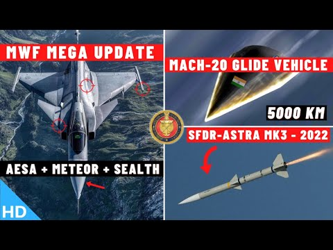 Indian Defence Updates : Mach 20 Glide Vehicle,Meteor For MWF,New SAAW-IIR,Astra-MK3 Dev Trial