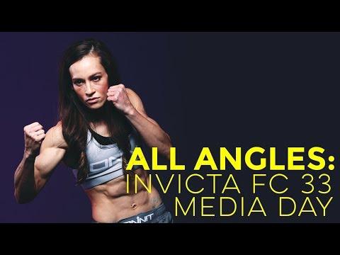 All Angles: Invicta FC 33 Media Day