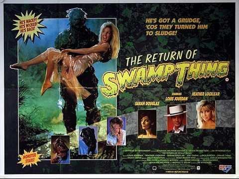 THE RETURN OF SWAMP THING - comics - 1989 - trailer