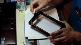 собираем планшет Prestigio MultiPad 7.0 Prime Due 3G для замены экрана, Часть 2