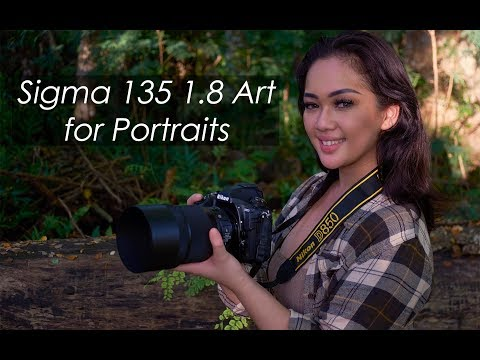 Sigma 135 1.8 Art on the Nikon D850 for Portraits feat. Guam Model Lupe Hamamoto