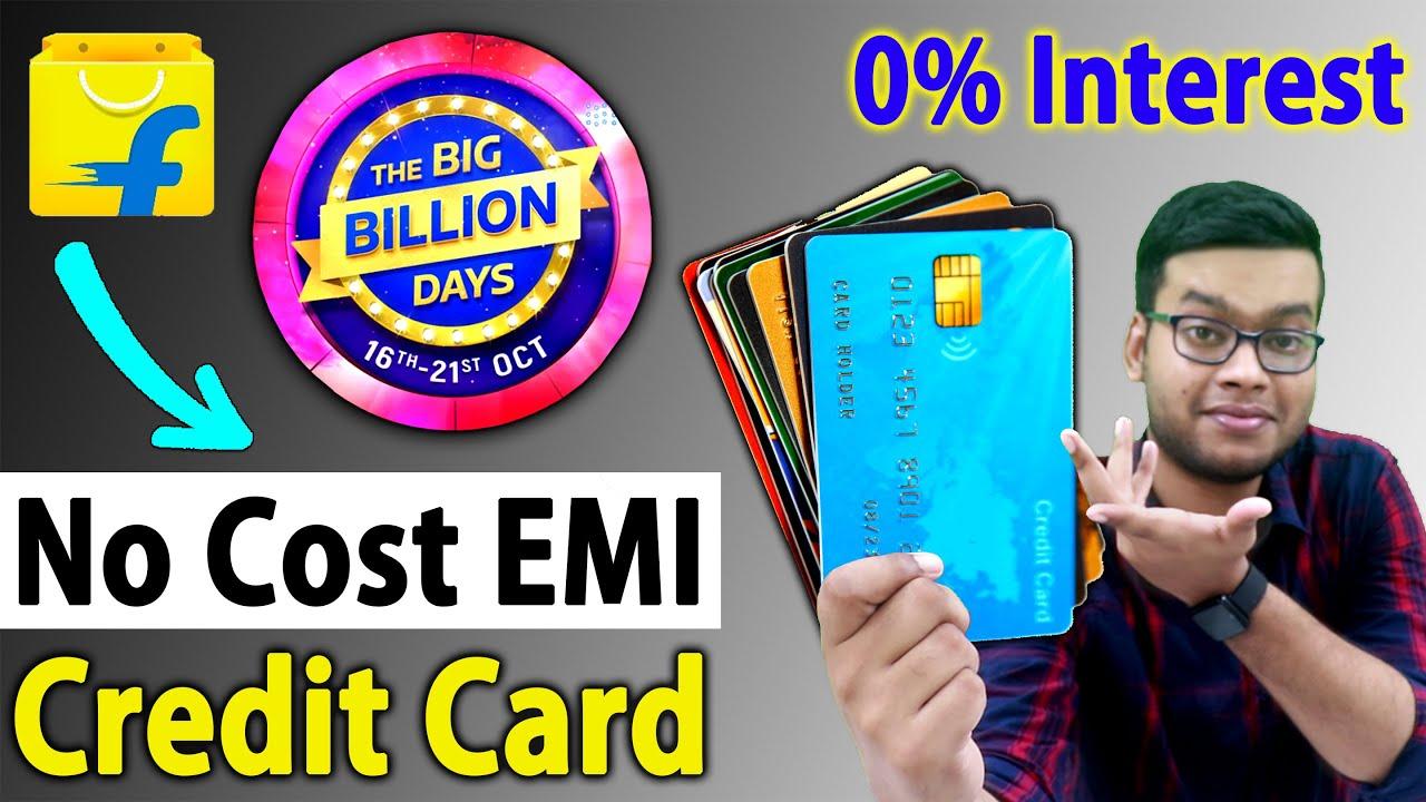 Flipkart Big Billion Days No Cost EMI Offer | How to Buy Smartphone on No Cost EMI on Flipkart Offer