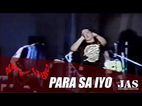 DEATH BY STEREO - Para Sa Iyo - Live in Baguio'95