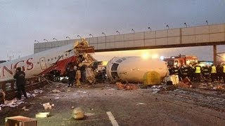 Подробности крушения Ту-204 RedWings во Внуково (фото+видео)