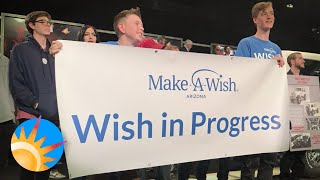 13-year-old raises $450,000 for Make-A-Wish