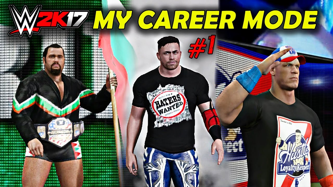 "Download WWE 2K17 My Career Mode ep 1 ""EPIC SMACKDOWN DEBUT"""