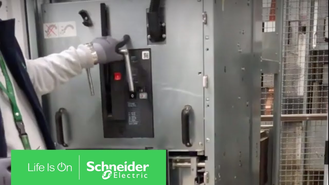 How To Lock Out Mcset Circuit Breaker In Test Position