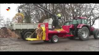 Tree Cutting Machine, Amazing Wood Splitter, Wood Cutting Equipment 2016