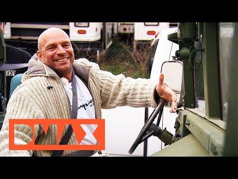 Ein Hummer Cabriolet der US Army   Steel Buddies   DMAX Deutschland