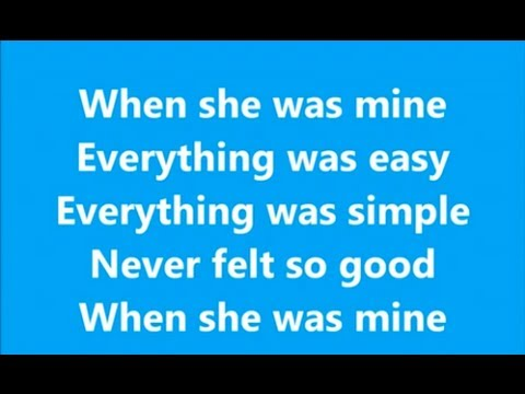 When She Was Mine - Lawson - Lyrics