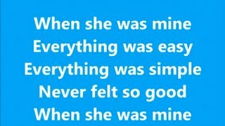 When She Was Mine - Lawson - Lyrics Mp3