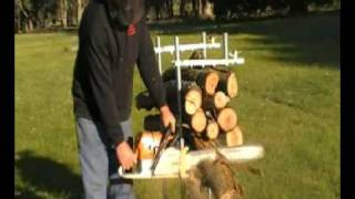 Mcalpin Firewood Cutting Holder