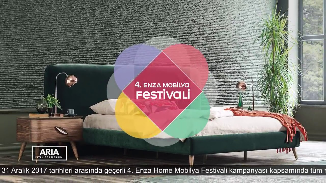 Enza Home 4 Mobilya Festivali Yatak Odalari