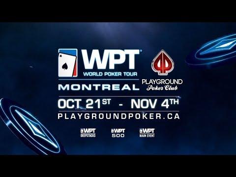 Playground Poker Club - 2018 WPT Montreal