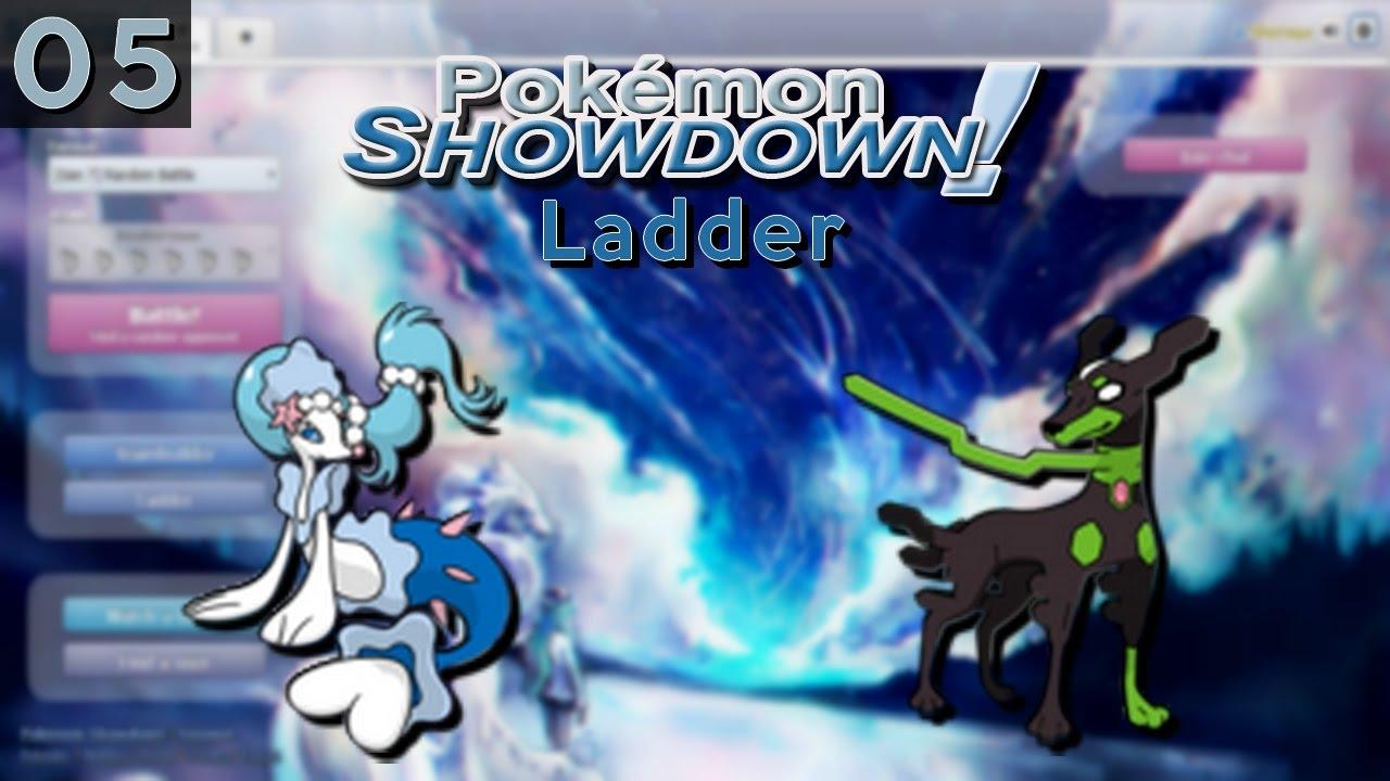 Testons deux Pokémon de la Septième Génération ! - Pokémon Showdown Ladder #5 [UnderUsed 7G] - Yo tout le monde, c'est Shiruga !