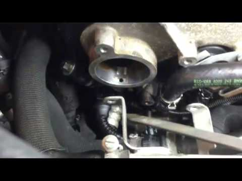 BMW Brake Vacumm Pump Seal Leak Replacement Part 3  YouTube