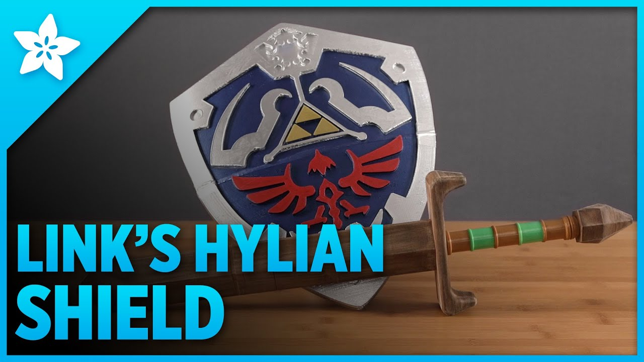 3d Print Links Hylian Shield Youtube