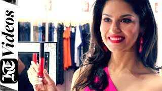 Bollywood star Sunny Leone launches her cosmetic range in Dubai
