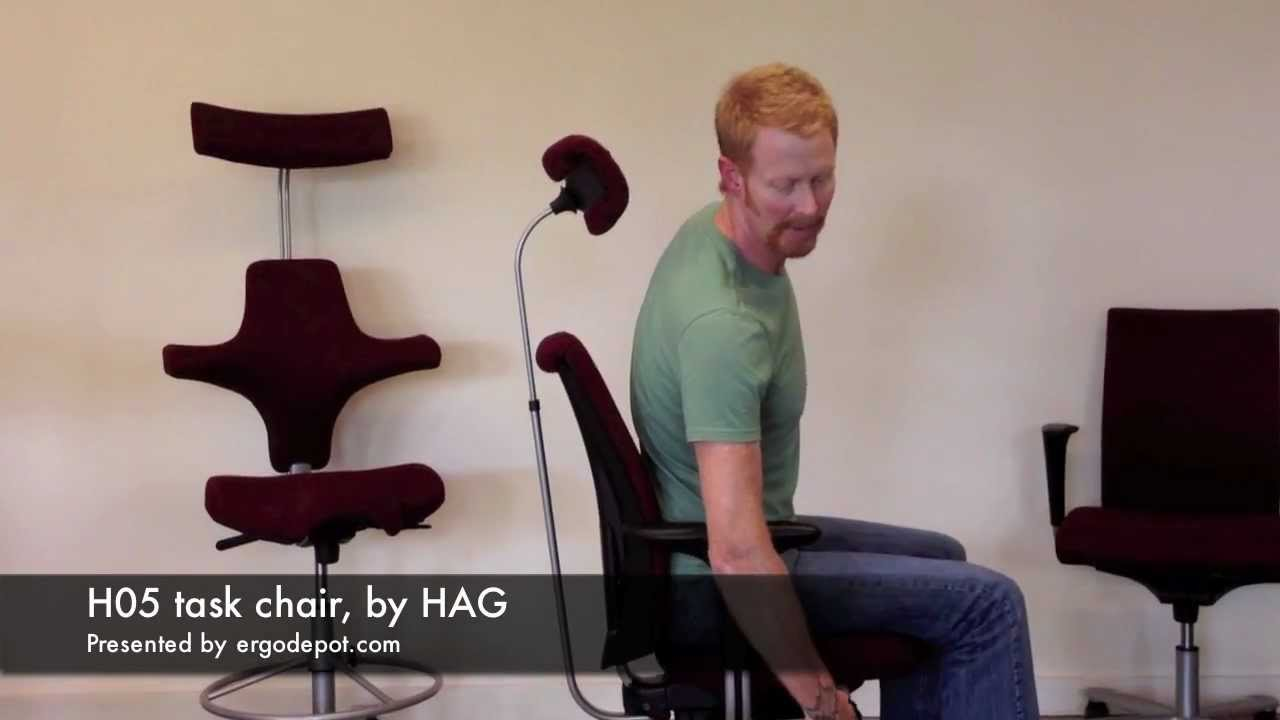 Hag Capisco Chair Instructions Overstock Outdoor Chairs H05 Office Video Review Youtube