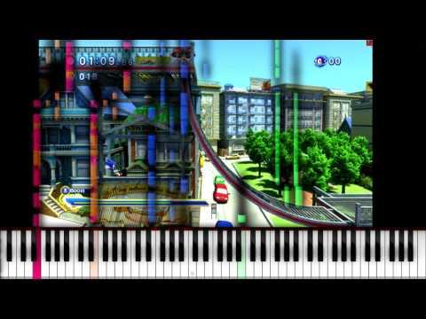 [Piano Duet] Piano From Above - Sonic Adventure 2 (Battle) - City Escape ~ TNRea