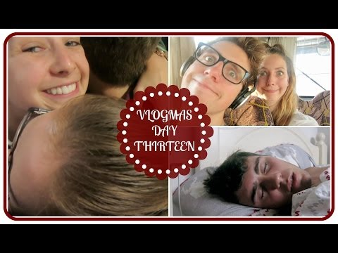 Going Home, Panic Attack & Alfie Sleep Talking | VLOGMAS