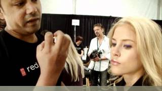 Emerson Backstage Make up Red Door Elizabeth Arden  2MBFW NY 2012 Anastasia Lambrou Thumbnail