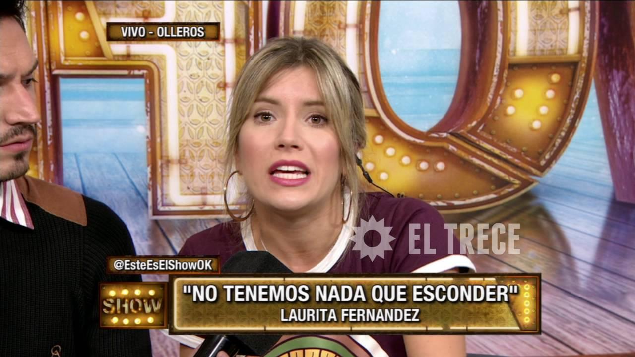 Fotos Desnudas De Lourdes Sanchez laurita fernández aclara cuando estuvo desnuda en el camarín de el tirri