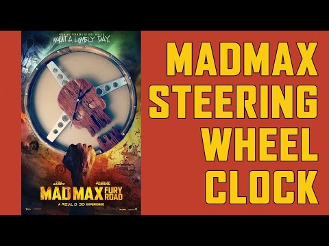 Making a Mad Max Inspired Clock | How To