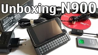 nokia N900 review and unboxing
