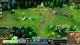 League of Legends Gameplay - Ashe Full Round