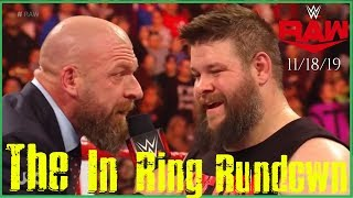 WWE RAW 11/18/19 | The In Ring Rundown #28 | NXT Invades Raw, Lana Files For Divorce