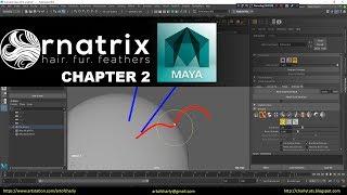 Download Ornatrix Maya: Hair guides sculpting time-lapse